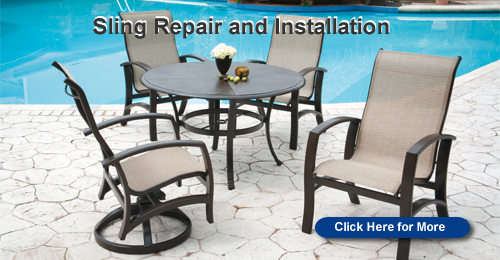 Sling Replacement. Sling Installation. Cantilever Umbrellas. Outdoor  Furniture Parts Part 57